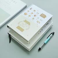 韩国手帐本日程本记事本计划本子日式手账本日历笔记本文具