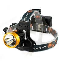 头灯 强光 充电 10w远射 户外钓鱼灯矿灯 感应灯