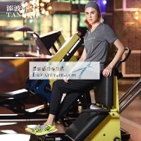 瑜伽服套装女健身跑步 速干衣舞蹈两件套运动短袖上衣