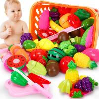 儿童过家家厨房水果蔬菜切切乐1-3-6周岁切切看男女孩玩具套装