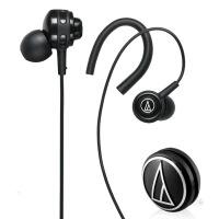 铁三角(Audio-technica)ATH-COR150 WH 入耳式音乐耳机;佩戴方式>>入耳式 耳挂式运动耳机
