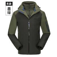 冲锋衣定做户外男款两件套水透气保暖工作服加厚内胆寒服