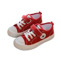 儿童帆布鞋女童球鞋休闲百搭布鞋男童鞋子板鞋