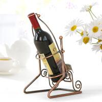 物有物语 红酒架 创意家居用品铁艺葡萄酒红酒架摆件 餐桌酒柜展示架装饰品摆设