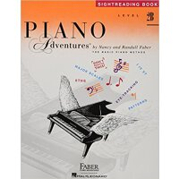 Piano Adventures: Level 2B: Sightreading Book 9781616776398