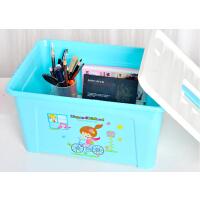 卡秀 大号多用途手提收纳整理箱 化妆箱 美容工具箱收纳盒子 绿色(KX619-3)