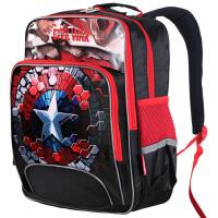 Disney迪士尼 BA5025红色 美国队长小学生书包 1-3年级儿童减负双肩背包 当当自营