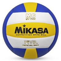 MIKASA/米卡萨排球MV1500 PU中考学生5号室内室外专用训练比赛