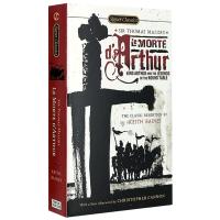 亚瑟王之死和圆桌骑士传奇 英文原版 Le Morte D'Arthur King Arthur 外国文学 托马斯马洛礼