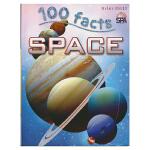 100 Facts Space 100个事实 太空和星球 儿童英语科普读物 英文原版进口图书