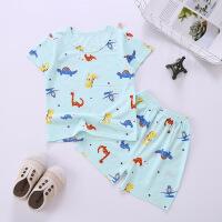 婴儿短袖两件套儿童套装夏季短袖宝宝薄款