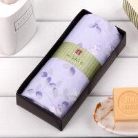 内野和风古1条装纱布面巾礼盒 教师节礼物纯棉吸水 创意毛巾礼盒