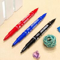 英雄883小双头水性记号笔水性笔儿童画勾线笔