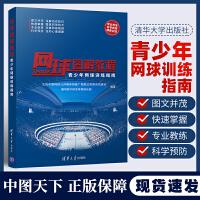 网球图解教程 青少年网球训练指南 网球专业训练书籍 网球各种打法技术战略技术与竞赛规则 网球握拍技术基本步法击发球技术教