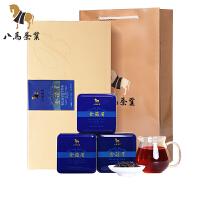 八马鸿韵系礼盒 新茶金骏眉 武夷山桐木红茶148g
