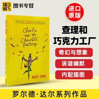 查理和巧克力工厂 儿童英文原版小说读物 Charlie and the Chocolate Factory 英文版 罗