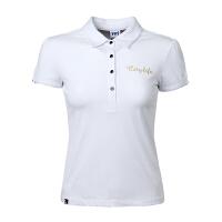 沃特 t恤女短袖潮运动服休闲透气POLO衫 短袖T恤