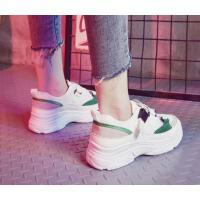 运动鞋子女潮鞋学生百搭韩版增高厚底网面透气ins老爹鞋