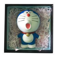 多啦a梦手办网红纪念品叮当猫公仔模型哆啦a梦创意生日礼物送同学 送人礼盒+卡片+袋