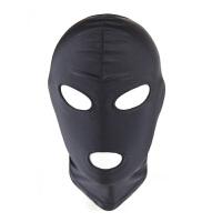 情趣用品SM刑具面罩情趣玩具束缚头套弹力布头罩窒息面具男女用房事调情性激情用具另类玩具情趣性用品