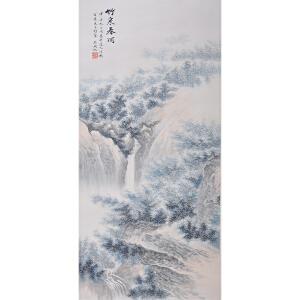吴湖帆   竹泉