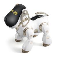儿童充电动玩具狗狗走路会唱歌 男女孩子智能机器人仿真对话小狗 白色 智能机器狗