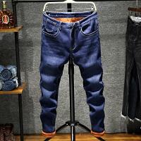 冬季牛仔裤男士韩版潮流修身小脚裤新款青年百搭休闲加绒加厚 MG138