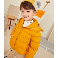 冬季儿童轻薄羽绒服短款中大童男童女童小童宝宝轻便外套