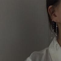 甜酸一款两戴耳饰超仙长流苏925银针耳坠女气质简约百搭耳环