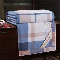 蚕丝被被棉冬被子母被四季被芯礼品T 自由风-送棉浴巾净重2斤 220x240净重3.9斤