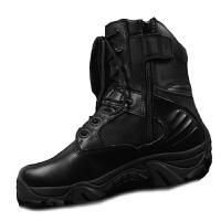 军靴透气作战靴 夏季战术靴我是特种兵防刺登山靴男靴