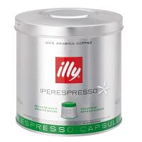 【网易考拉】illy 意利 意大利原装低因咖啡胶囊家庭装 21粒/罐