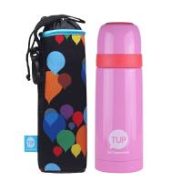 [当当自营]特百惠 糖果保温瓶(升级版) 350ML粉色送杯套