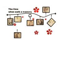 花朵3D亚克力立体墙贴客厅沙发背景墙贴车卧室婚房背景装饰贴玄关