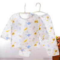 宝宝内衣套装儿童空调服超薄款婴儿睡衣夏季男女