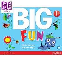 【中商原版】big fun 1 Student's Book with CD-ROM 小学朗文培生英语学乐趣1级学生书
