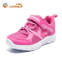 【进店更有3.8折羽绒服专区】CAMKIDS2018春夏季新款男女童鞋儿童运动鞋透气中大童运动鞋
