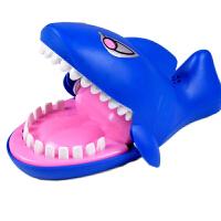 按牙齿鲨鱼玩具 咬手指 创意整蛊玩具恶搞整人