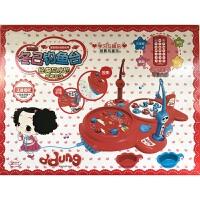 儿童玩具 磁性钓鱼台电动玩具套装男孩女孩儿童益智早教礼盒装生日礼物 冬己红色早教钓鱼台