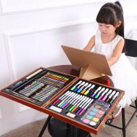 儿童绘画文具套装水彩笔蜡笔绘画工具美术画画*盒装开学