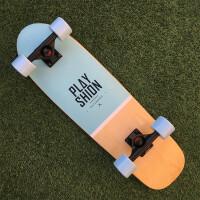 潮牌小大鱼板滑板车四轮滑板刷街代步青少年初学公路滑板