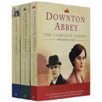 英剧唐顿庄园剧本全集 英文原版小说 Downton Abbey Script Book 1-3 英文版正版进口英语书籍