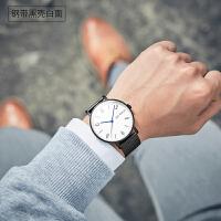 时尚男士全自动机械表男表精钢户外防水简约韩版潮流学生运动手表
