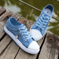 女韩版板鞋低帮平底帆布鞋少女鞋韩版休闲学生鞋子HLP