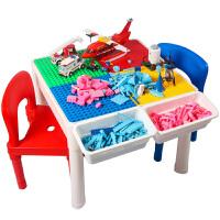 �和��e木玩具 多功能�e木桌�W�游�蜃�����和�益智早教�Y盒�b生日�Y物