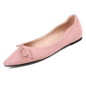 O'SHELL欧希尔新品020-H07韩版磨砂绒面平跟舒适女士单鞋