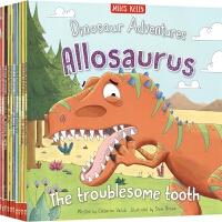 【首页抢券300-100】Dinosaur Adventures Bag Collection Set 恐龙冒险故事10