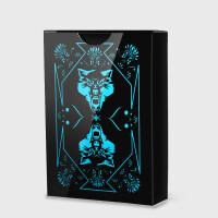 【支持礼品卡】塑料扑克牌 创意防水花切扑克牌 近景魔术扑克v0n