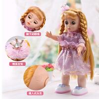会说话的娃娃智能对话洋娃娃玩具 女孩 公主儿童婚纱娃娃套装