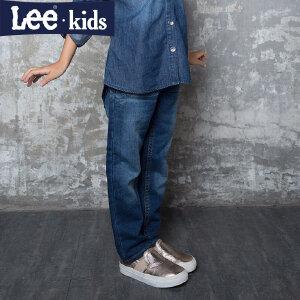 LEE童装 秋款女童时尚休闲裤大童儿童直筒长裤牛仔裤2RW50554